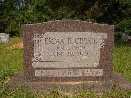 CRUCE, EMMA R - Calhoun County, Arkansas   EMMA R CRUCE - Arkansas Gravestone Photos