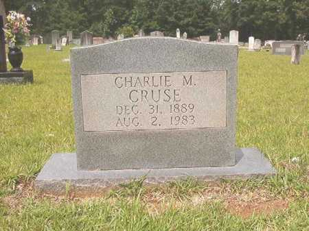 CRUSE, CHARLIE MADISON - Calhoun County, Arkansas | CHARLIE MADISON CRUSE - Arkansas Gravestone Photos