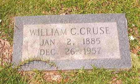 CRUSE, WILLIAM C - Calhoun County, Arkansas | WILLIAM C CRUSE - Arkansas Gravestone Photos
