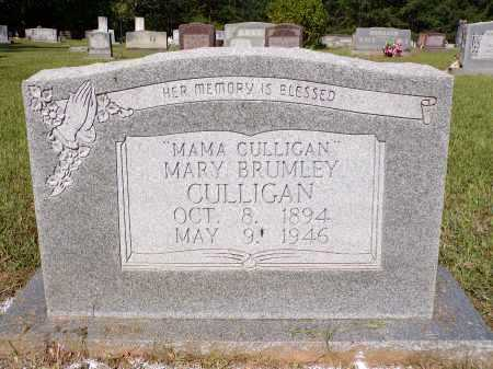 BRUMLEY CULLIGAN, MARY - Calhoun County, Arkansas | MARY BRUMLEY CULLIGAN - Arkansas Gravestone Photos