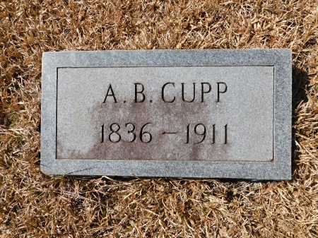 CUPP, A B - Calhoun County, Arkansas | A B CUPP - Arkansas Gravestone Photos