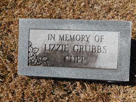 CUPP, LIZZIE - Calhoun County, Arkansas   LIZZIE CUPP - Arkansas Gravestone Photos