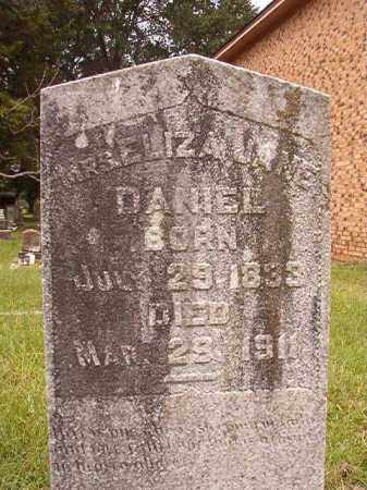 DANIEL, ELIZA JANE - Calhoun County, Arkansas   ELIZA JANE DANIEL - Arkansas Gravestone Photos