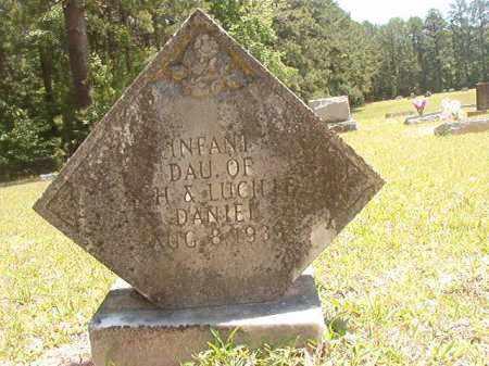 DANIEL, INFANT DAUGHTER - Calhoun County, Arkansas | INFANT DAUGHTER DANIEL - Arkansas Gravestone Photos