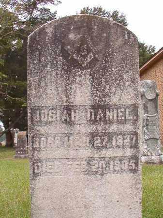 DANIEL, JOSIAH - Calhoun County, Arkansas | JOSIAH DANIEL - Arkansas Gravestone Photos