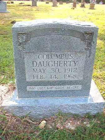 DAUGHERTY, COLUMBUS - Calhoun County, Arkansas | COLUMBUS DAUGHERTY - Arkansas Gravestone Photos