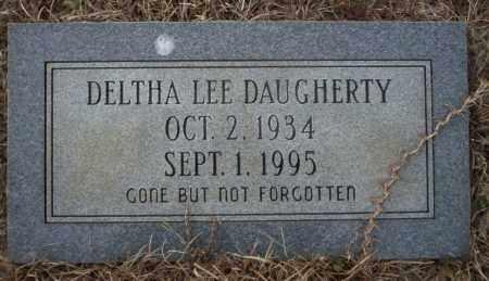 LEE DAUGHERTY, DELTHA - Calhoun County, Arkansas | DELTHA LEE DAUGHERTY - Arkansas Gravestone Photos