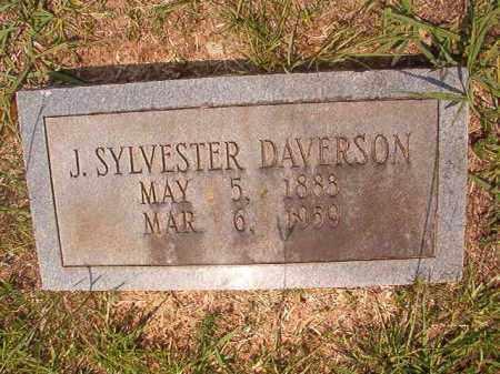 DAVERSON, J SYLVESTER - Calhoun County, Arkansas | J SYLVESTER DAVERSON - Arkansas Gravestone Photos