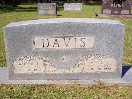 DAVIS, BARNIE J - Calhoun County, Arkansas   BARNIE J DAVIS - Arkansas Gravestone Photos