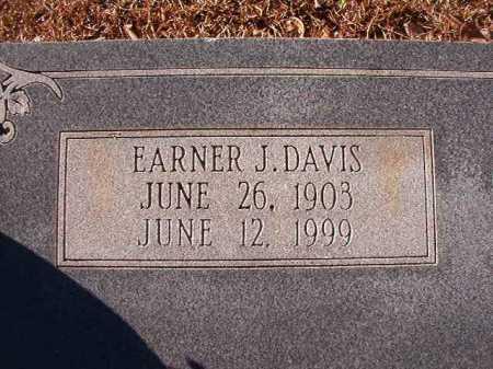 DAVIS, EARNER J - Calhoun County, Arkansas | EARNER J DAVIS - Arkansas Gravestone Photos
