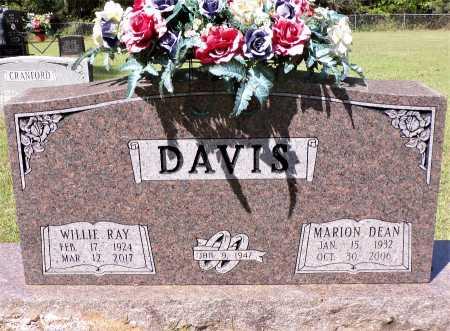 DAVIS, MARION DEAN - Calhoun County, Arkansas | MARION DEAN DAVIS - Arkansas Gravestone Photos