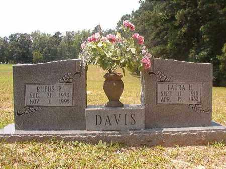 DAVIS, LAURA H - Calhoun County, Arkansas | LAURA H DAVIS - Arkansas Gravestone Photos