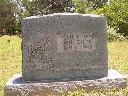 DAVIS, SALLIE R - Calhoun County, Arkansas   SALLIE R DAVIS - Arkansas Gravestone Photos
