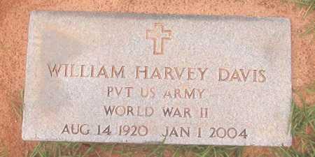 DAVIS (VETERAN WWII), WILLIAM HARVEY - Calhoun County, Arkansas | WILLIAM HARVEY DAVIS (VETERAN WWII) - Arkansas Gravestone Photos