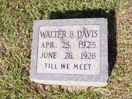 DAVIS, WALTER B - Calhoun County, Arkansas   WALTER B DAVIS - Arkansas Gravestone Photos