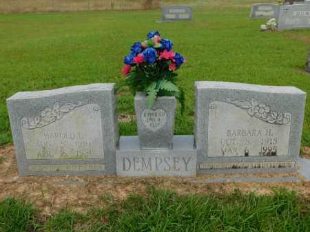 DEMPSEY, HAROLD L - Calhoun County, Arkansas | HAROLD L DEMPSEY - Arkansas Gravestone Photos