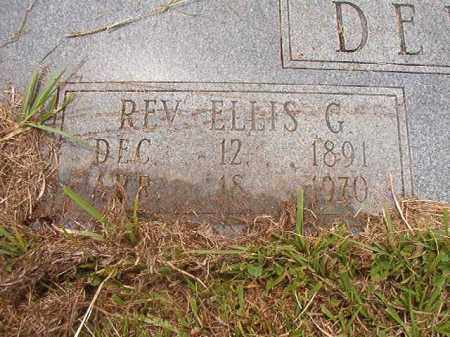 DENNIS, REV, ELLIS G - Calhoun County, Arkansas | ELLIS G DENNIS, REV - Arkansas Gravestone Photos