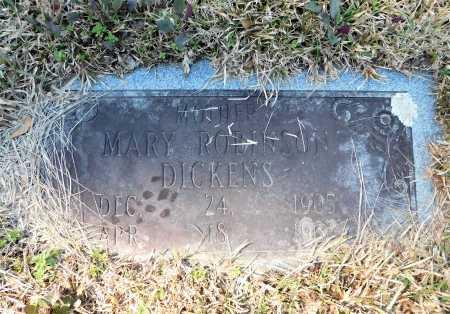 DICKENS, MARY - Calhoun County, Arkansas   MARY DICKENS - Arkansas Gravestone Photos