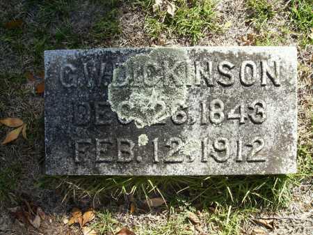 DICKINSON, G W - Calhoun County, Arkansas   G W DICKINSON - Arkansas Gravestone Photos