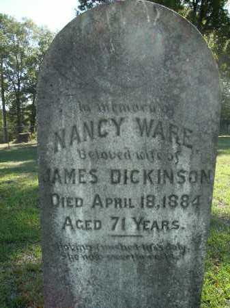 DICKINSON, NANCY - Calhoun County, Arkansas   NANCY DICKINSON - Arkansas Gravestone Photos