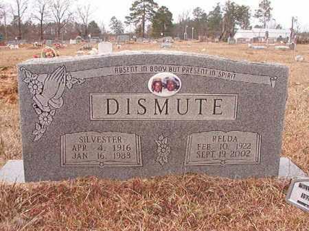 DISMUTE, SILVESTER - Calhoun County, Arkansas | SILVESTER DISMUTE - Arkansas Gravestone Photos
