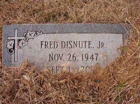 DISNUTE, JR, FRED - Calhoun County, Arkansas | FRED DISNUTE, JR - Arkansas Gravestone Photos