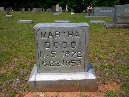 DODD, MARTHA - Calhoun County, Arkansas | MARTHA DODD - Arkansas Gravestone Photos