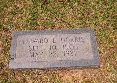 DORRIS, EDWARD L - Calhoun County, Arkansas | EDWARD L DORRIS - Arkansas Gravestone Photos