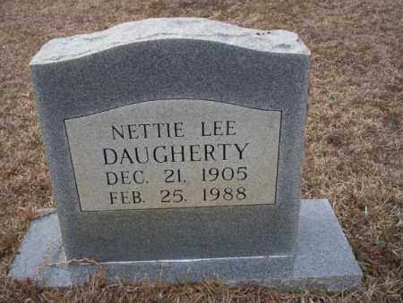 DAUGHERTY, NETTIE LEE - Calhoun County, Arkansas   NETTIE LEE DAUGHERTY - Arkansas Gravestone Photos