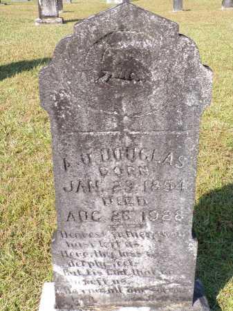 DOUGLAS, A O - Calhoun County, Arkansas | A O DOUGLAS - Arkansas Gravestone Photos