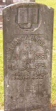 DOUGLAS, WILLIAM A - Calhoun County, Arkansas | WILLIAM A DOUGLAS - Arkansas Gravestone Photos
