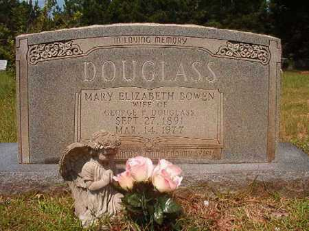 BOWEN DOUGLASS, MARY ELIZABETH - Calhoun County, Arkansas | MARY ELIZABETH BOWEN DOUGLASS - Arkansas Gravestone Photos