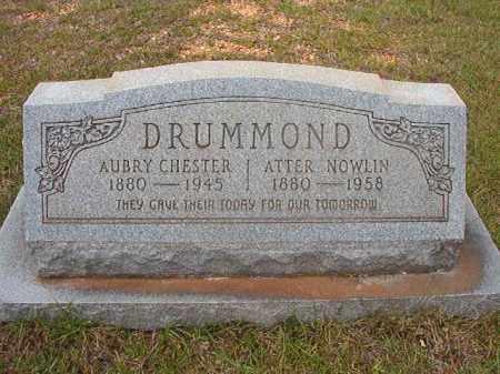 DRUMMOND, ATTER - Calhoun County, Arkansas | ATTER DRUMMOND - Arkansas Gravestone Photos