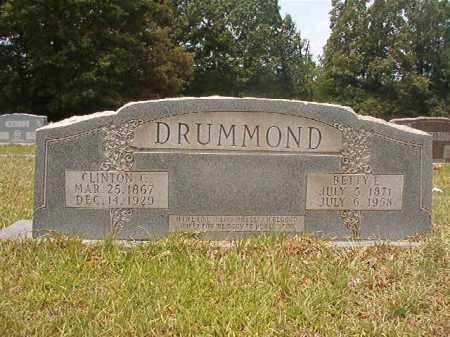 DRUMMOND, CLINTON C - Calhoun County, Arkansas | CLINTON C DRUMMOND - Arkansas Gravestone Photos