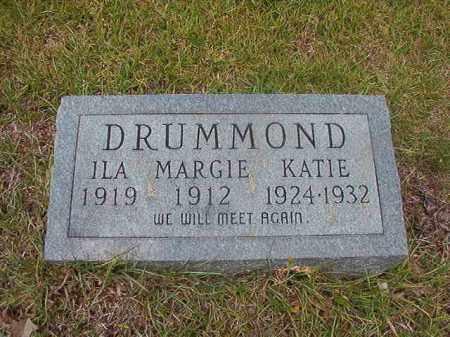 DRUMMOND, KATIE - Calhoun County, Arkansas | KATIE DRUMMOND - Arkansas Gravestone Photos