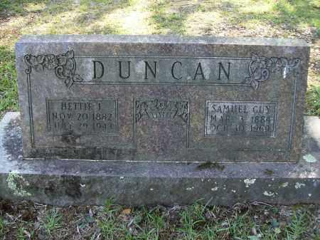DUNCAN, SAMUEL GUY - Calhoun County, Arkansas | SAMUEL GUY DUNCAN - Arkansas Gravestone Photos