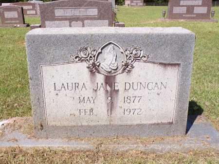 DUNCAN, LAURA JANE - Calhoun County, Arkansas | LAURA JANE DUNCAN - Arkansas Gravestone Photos