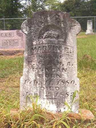 DUNCAN, MARVIN E - Calhoun County, Arkansas   MARVIN E DUNCAN - Arkansas Gravestone Photos