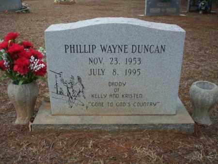 DUNCAN, PHILLIP WAYNE - Calhoun County, Arkansas | PHILLIP WAYNE DUNCAN - Arkansas Gravestone Photos