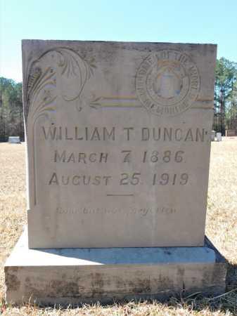 DUNCAN, WILLIAM T - Calhoun County, Arkansas | WILLIAM T DUNCAN - Arkansas Gravestone Photos