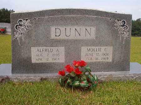 DUNN, MOLLIE C - Calhoun County, Arkansas   MOLLIE C DUNN - Arkansas Gravestone Photos