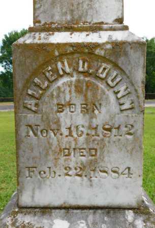 DUNN, ALLEN D - Calhoun County, Arkansas | ALLEN D DUNN - Arkansas Gravestone Photos