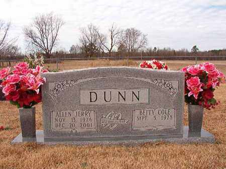DUNN, ALLEN JERRY - Calhoun County, Arkansas   ALLEN JERRY DUNN - Arkansas Gravestone Photos