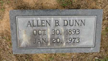 DUNN, ALLEN B - Calhoun County, Arkansas | ALLEN B DUNN - Arkansas Gravestone Photos