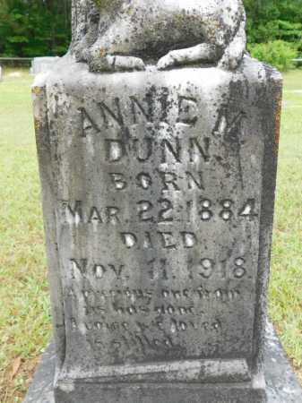 DUNN, ANNIE M - Calhoun County, Arkansas | ANNIE M DUNN - Arkansas Gravestone Photos