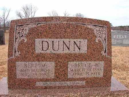 DUNN, BERT M - Calhoun County, Arkansas | BERT M DUNN - Arkansas Gravestone Photos