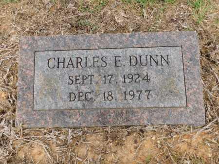 DUNN, CHARLES E - Calhoun County, Arkansas   CHARLES E DUNN - Arkansas Gravestone Photos