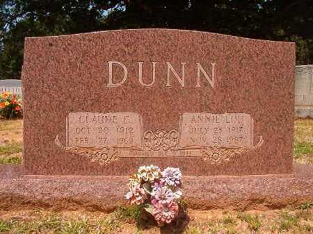 DUNN, CLAUDE C - Calhoun County, Arkansas | CLAUDE C DUNN - Arkansas Gravestone Photos