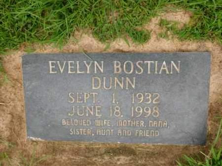 DUNN, EVELYN - Calhoun County, Arkansas | EVELYN DUNN - Arkansas Gravestone Photos