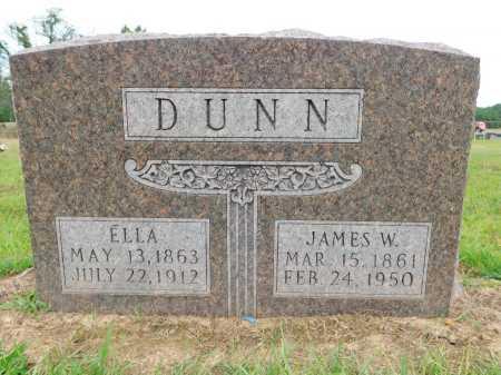 DUNN, JAMES W - Calhoun County, Arkansas | JAMES W DUNN - Arkansas Gravestone Photos